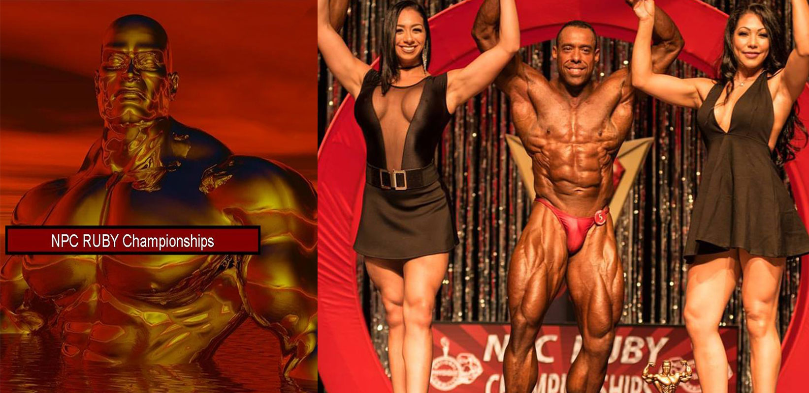 My Trainer Joe Wins at the 2016 NPC Ruby Championships